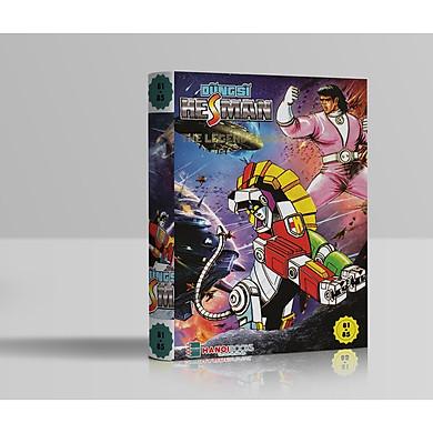 Boxset 17 : 5 tập Dũng Sĩ HesMan ( Từ tập 81 đến tập 85 )