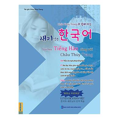 Vui Học Tiếng Hàn Cùng Với Châu Thùy Trang