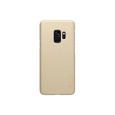 Combo Ốp lưng sần dành cho Samsung Galaxy S9 chính hãng Nillkin mặt lưng nhung mịn siêu bền và 1 miếng dán màn hình từ tính - Sản phẩm chính hãng