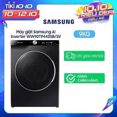 Máy giặt Samsung AI Inverter 9kg WW90TP44DSB/SV – Chỉ giao Hà Nội