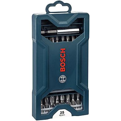 Bộ mũi vặn vít Bosch 25 món 2607017400