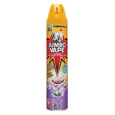Bình Xịt Côn Trùng Jumbo Vape Super A1 Hương Lavender  100712618 (600ml)