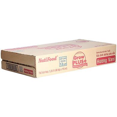 Thùng 48 Hộp x 110ml Sữa Bột Pha Sẵn GrowPLUS+ Đỏ 110ml Suy Dinh Dưỡng - Hàng Chính Hãng
