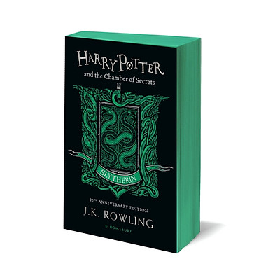 Harry Potter Part 2: Harry Potter And The Chamber Of Secrets (Paperback) Slytherin Edition (Harry Potter và Phòng chứa bí mật) (English Book)