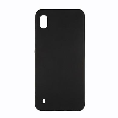 Ốp lưng Samsung A10/M10 silicone TPU dẻo đen chống bám vân tay - Hàng Chính Hãng