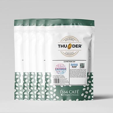 Cà Phê Catimor Rang Xay Tinh Khiết 100% - 1864 CAFÉ (1.1kg)
