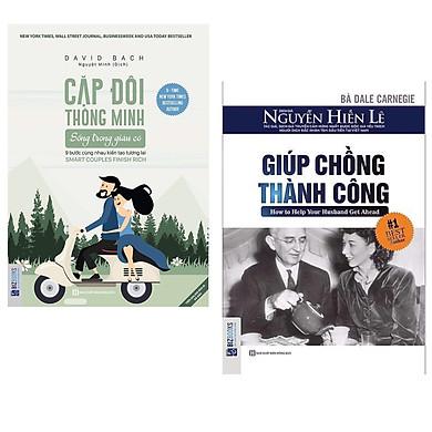 Combo 2 cuốn sách hay về tư duy kĩ năng sống :  Cặp đôi thông minh sống trong giàu có - Cùng nhau kiến tạo tương lai +  Giúp Chồng Thành Công.