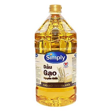 Dầu Gạo Simply (2L)