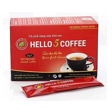Cà Phê Hòa Tan Rang Xay 3in1 - Hello 5 Coffee