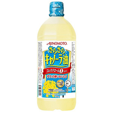 Dầu Ăn Hoa Cải Ajinomoto Bổ Sung Omega 3 & 6 (1000G)