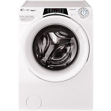 Máy Giặt Sấy Cửa Trước Inverter Candy ROW 4966DWHC1-S (9kg/6kg) - Hàng Chính Hãng - Chỉ Giao tại HCM