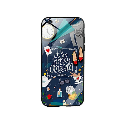 Ốp Lưng Kính Cường Lực cho điện thoại Iphone 6 Plus / 6s Plus - Dream Girl 02