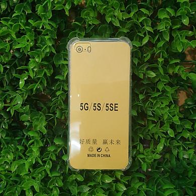Ốp Silicon Dẻo Trong Chống Sốc Cho Iphone 5 / 5s / 5se