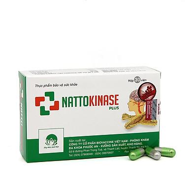 Thực Phẩm Chức Năng Phòng ngừa đột quỵ và tai biến mạch máu não Nattokinase Plus