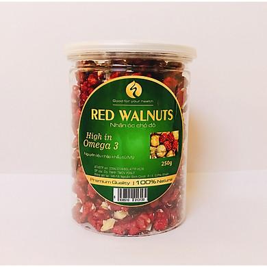 Hạt Óc Chó đỏ tách vỏ Hũ 250g
