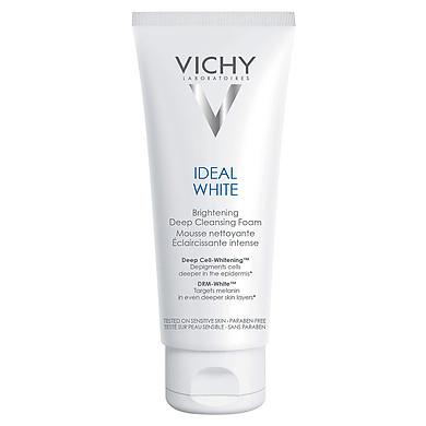 Sữa Rửa Mặt Tạo Bọt Dưỡng Trắng Da Vichy Ideal White Brightening Deep Cleansing Foam - 100703019 - M9440600 (100ml)