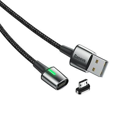 Cáp sạc từ tính Baseus Zinc Magnetic Cable Series 2 (Type C/ Micro/ Lightning , Sync Data & Quick Charge 3.0, New Model) - Hàng chính hãng