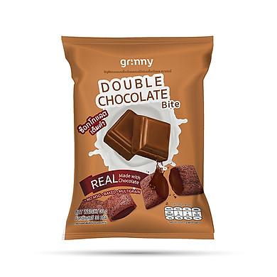 Bánh snack Ngũ Cốc Grinny nhân Sô Cô La - Double Chocolate