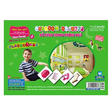 Flashcard Dạy Trẻ Theo Phương Pháp Glenn Doman - Đồ Dùng Trong Phòng Ngủ