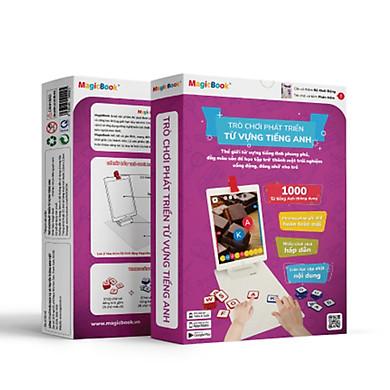 Trò chơi phát triển trí tuệ trẻ em Magicbook Bộ Phát Triển Từ Vựng Tiếng Anh