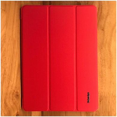 """Bao da iPad 9.7"""" New 2017 / 2018 hiệu KAKU Leather TPU đỏ - Hàng nhập khẩu"""