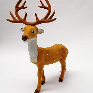 Tuần lộc (nai ) trang trí Giáng Sinh kích thước cao 35cm