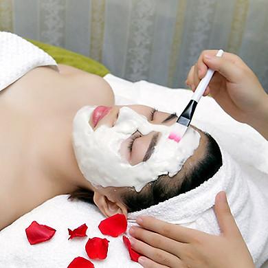 Điều trị mụn chuyên sâu + Đắp mặt nạ trị mụn + Điện di ion lạnh ( 90 Phút)