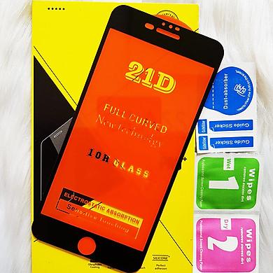 (2 Màu) Kính Cường Lực 21D cho IPHONE 7 PLUS - 8 PLUS Full Keo Màn Hình 21D SIÊU BỀN, SIÊU CỨNG, ÔM SÁT MÁY CAPARIES CHÍNH HÃNG