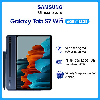 Máy Tính Bảng Samsung Galaxy Tab S7 Wifi T870 (6GB/128GB) – Hàng Chính Hãng