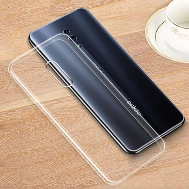 Bộ 2 ốp lưng silicon trong suốt cho Oppo Reno