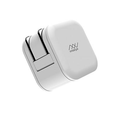 COMBO Cáp Innostyle Jazzy USB - C to lightning 1.2M + Sạc nhanh Innostyle USB-C PD 18W Minigo - Hàng Chính Hãng