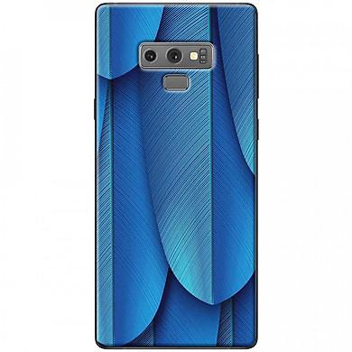 Ốp lưng dành cho Samsung Galaxy Note 9 mẫu Lông vũ xanh dương