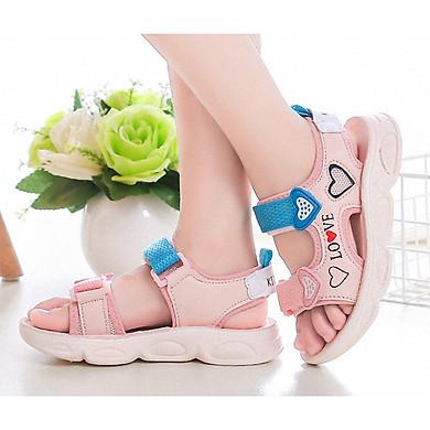 Sandal in hình trái tim dễ thương cho bé gái - SAD0119
