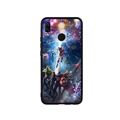 Ốp Lưng Kính Cường Lực cho điện thoại Huawei Nova 3i - Marvel 02