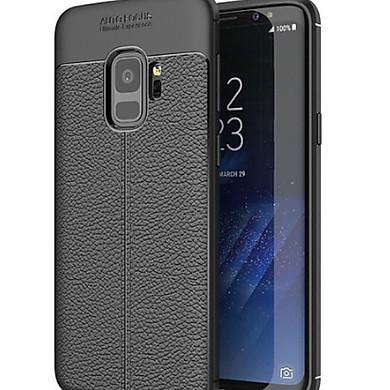 Ốp Lưng cao cấp Auto Focus Vân da cho điện thoại SAMSUNG: S8, S8 Plus, S9, S9 Plus (Màu Đen)