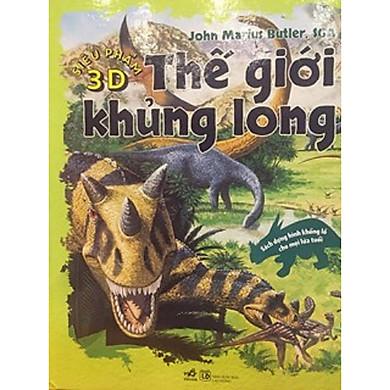 Siêu phẩm 3D - Thế giới khủng long (Sách dựng hình 3D Kèm Book mark Giga)