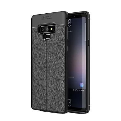 Ốp lưng điện thoại Samsung Note 9 silicone vân da auto - Chính hãng