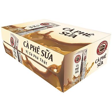 Thùng 48 Hộp Highlands Coffee Cà Phê Sữa Tetra Pack (180ml x 48 Hộp)