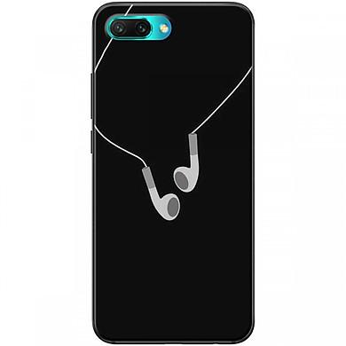 Ốp lưng dành cho điện thoại HONOR10  Mẫu Tai nghe