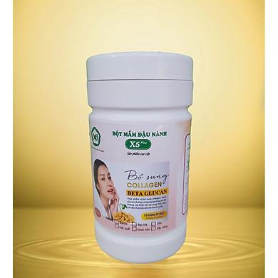 Bột Mầm Đậu Nành X5 Có Bổ Sung Collagen, Betaglucan