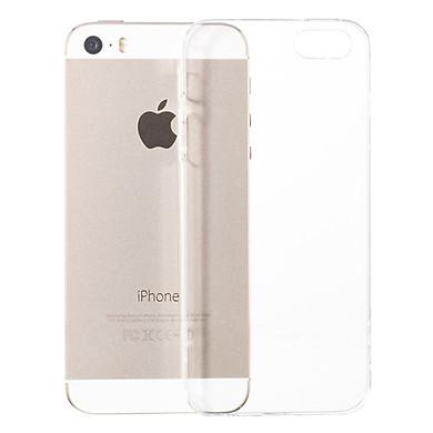Ốp Lưng Dẻo Silicon Dành Cho iPhone 5/5S/SE (Trong Suốt)