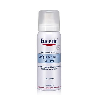 Xịt Khoáng Cho Da Nhạy Cảm Eucerin AQUAporin Active Mist Spray (50 ml)