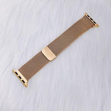 Dây Đeo thay thế Apple Watch-Milanese Loop - VÀNG ÁNH KIM