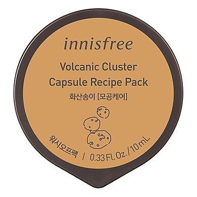 Mặt Nạ Rửa Dạng Hủ Từ Đá Núi Lửa Innisfree Capsule Recipe Pack Volcanic Cluster (10ml) - 131170954