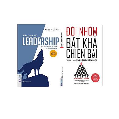 Combo kỹ năng và làm việc và lãnh đạo đội nhóm ( Đội nhóm bất khả chiến bại+ Laedship Dẫn dắt bản thân và đội nhóm tổ chức vươn xa ) tặng bút bi