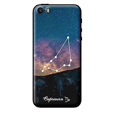 Ốp in cho iPhone 5 Cung Hoàng Đạo - Capricorn - Hàng chính hãng
