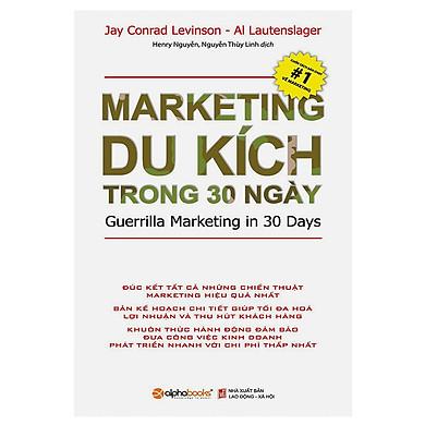 Marketing Du Kích Trong 30 Ngày (Tái Bản) Tặng BookMark Romantic