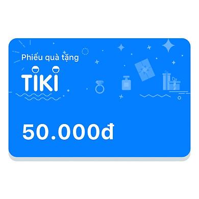 Phiếu Quà Tặng Tiki 50.000đ