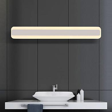 Đèn gắn tường trang trí hình chữ nhật bo tròn mềm mại. ( có 3 chế độ màu)
