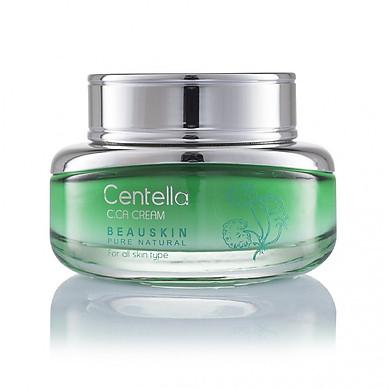 Kem dưỡng ẩm và phục hồi tái tạo da Beauskin Centella Cica Cream (50g) - Hàn Quốc Chính Hãng